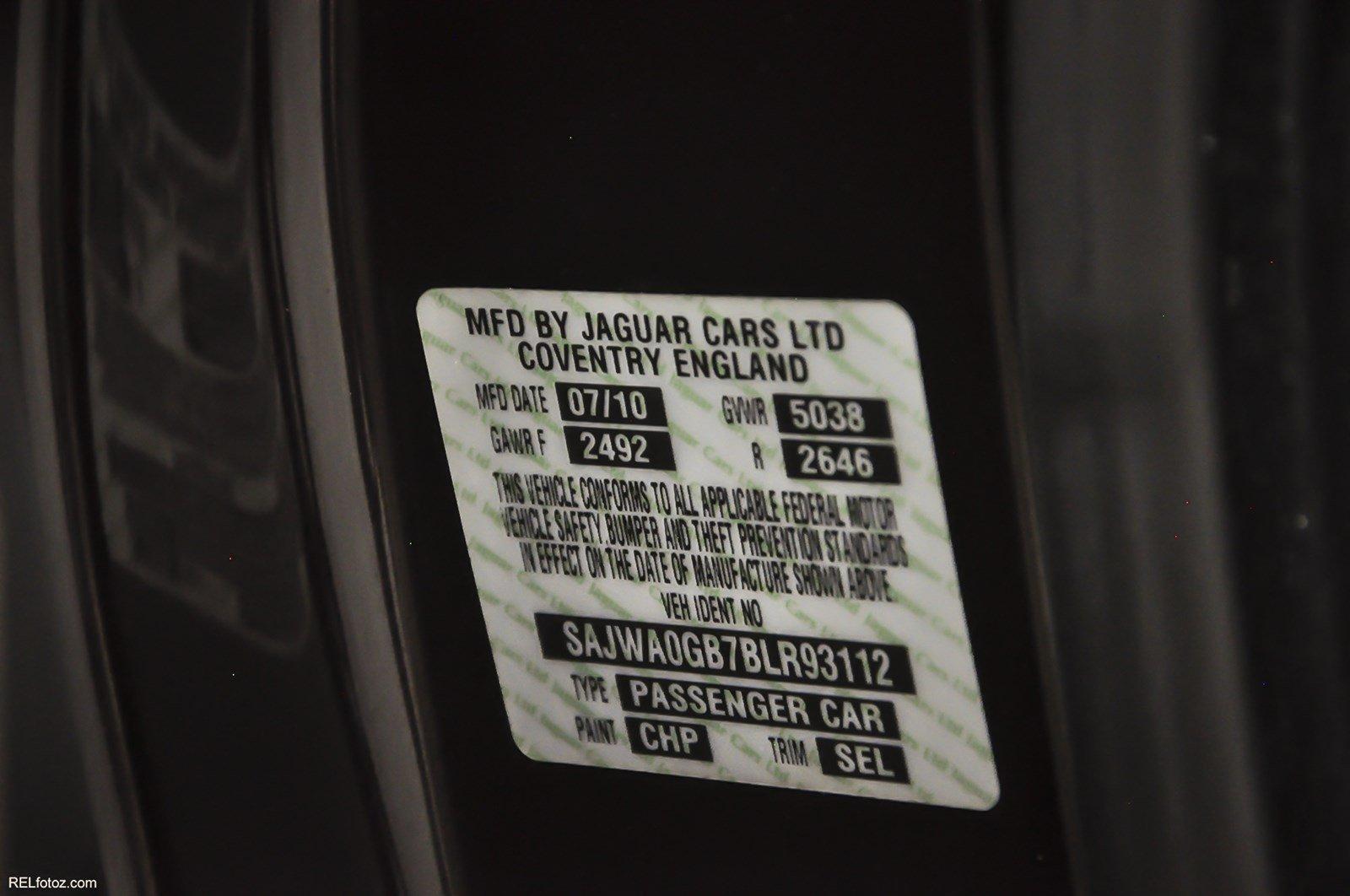 2011 Jaguar Xf Portfolio Stock R93112 For Sale Near