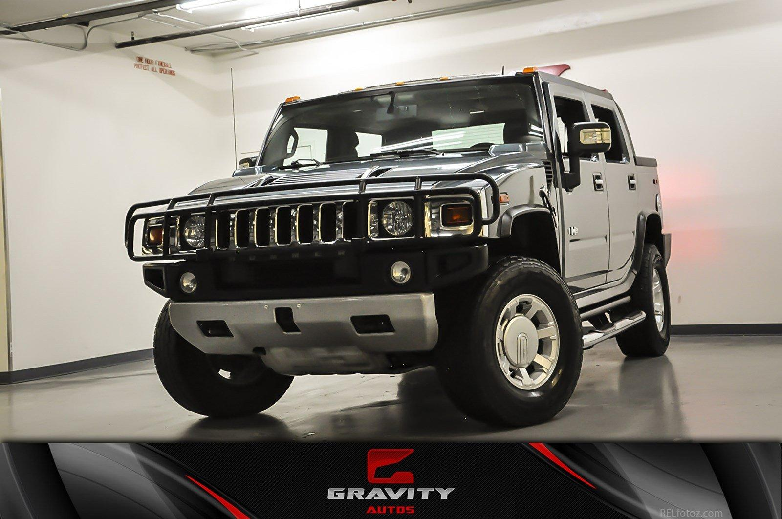 2008 hummer h2 sut stock 105427 for sale near marietta ga ga hummer dealer. Black Bedroom Furniture Sets. Home Design Ideas
