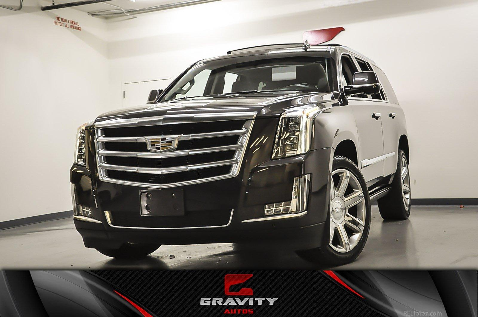 Ga Used 2016 Cadillac Escalade Premium Collection Marietta