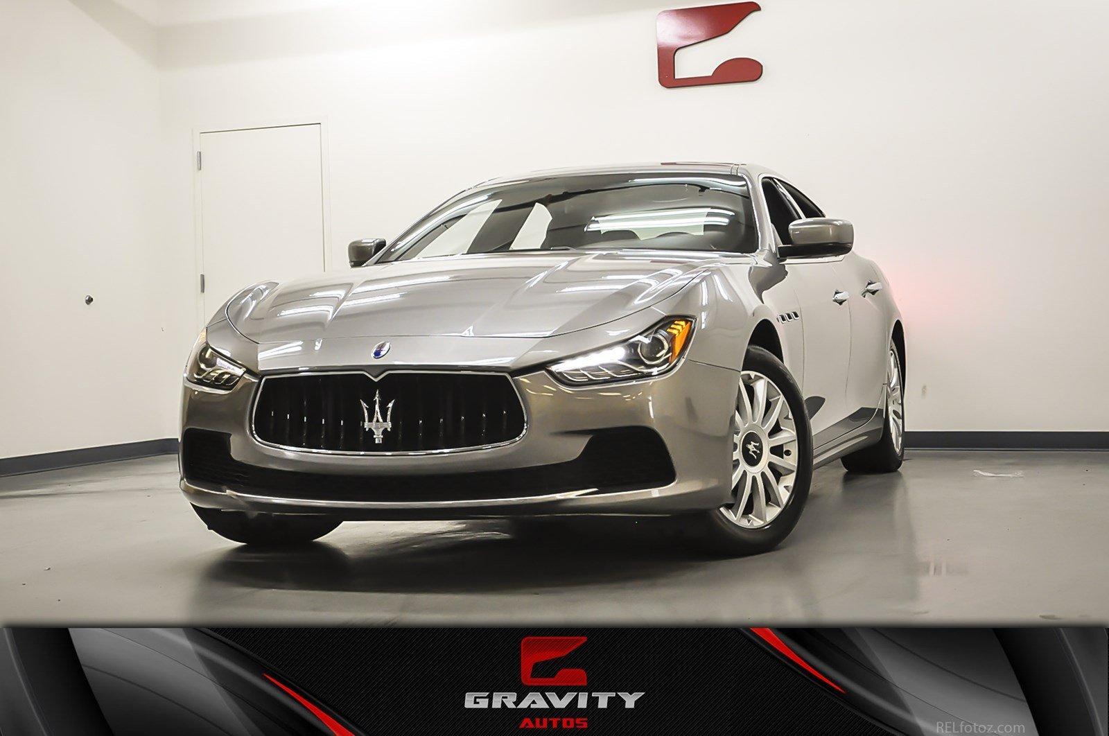 2014 Maserati Ghibli Stock 103484 For Sale Near Marietta Ga Ga