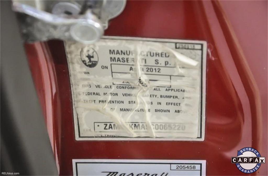Used 2012 Maserati GranTurismo Base | Marietta, GA