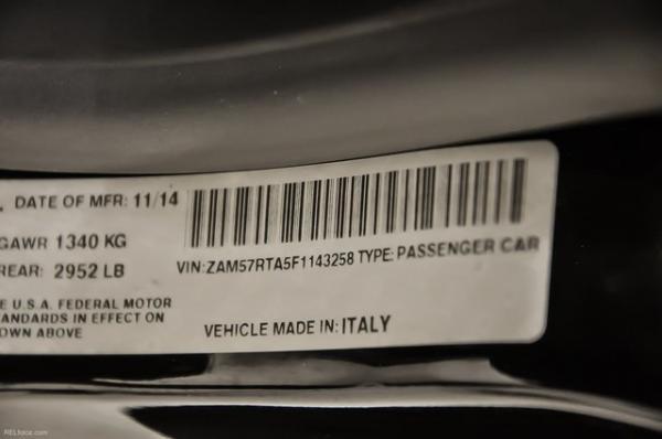 Used 2015 Maserati Ghibli S Q4   Marietta, GA