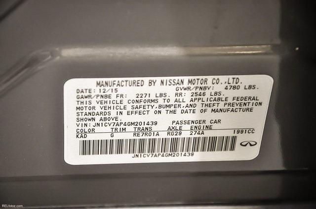 Used 2016 INFINITI Q50 2.0t Premium | Marietta, GA