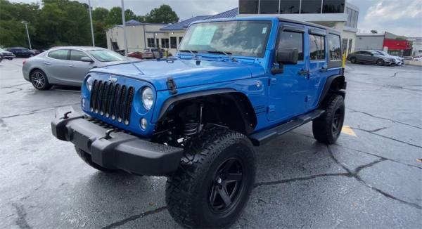 Used 2016 Jeep Wrangler Unlimited Sport | Marietta, GA