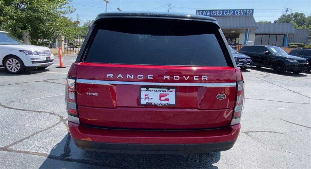 Used 2015 Land Rover Range Rover 3.0L V6 Supercharged HSE   Marietta, GA