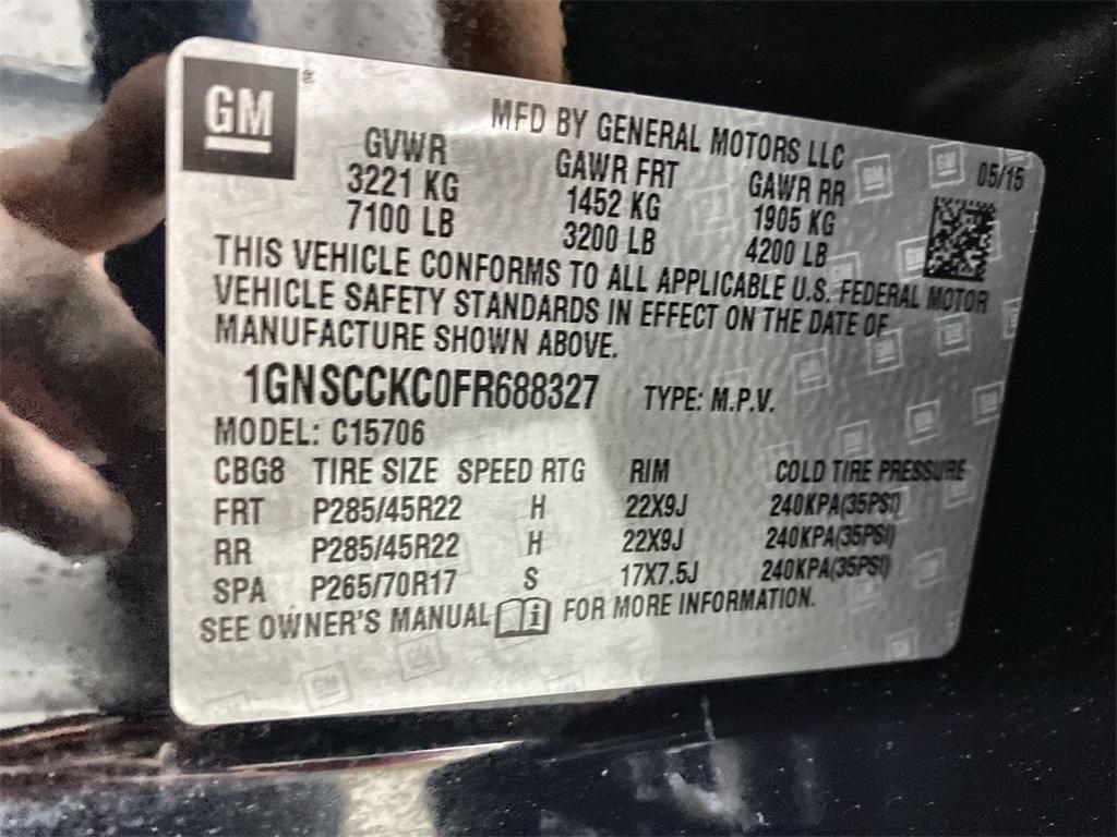 Used 2015 Chevrolet Tahoe LTZ   Marietta, GA