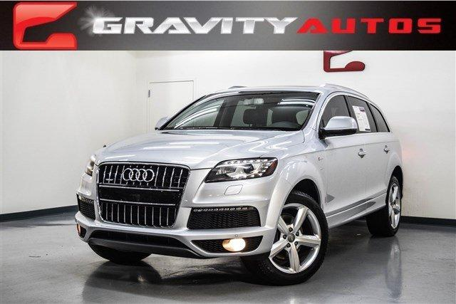 2013 audi q7 3 0t s line prestige stock 001500 for sale near marietta ga ga audi dealer. Black Bedroom Furniture Sets. Home Design Ideas