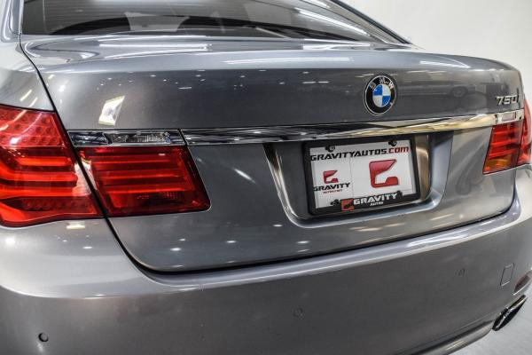 2012 Bmw 7 Series 750i Xdrive For Sale With Photos Carfax