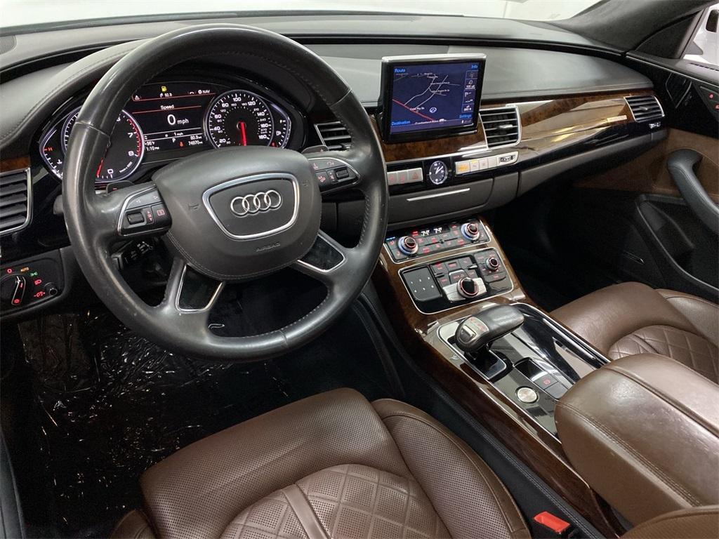 Used 2014 Audi A8 L 3.0T for sale Sold at Gravity Autos Marietta in Marietta GA 30060 40