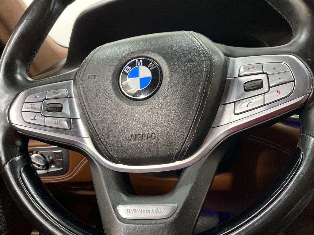 Used 2016 BMW 7 Series 750i xDrive for sale Sold at Gravity Autos Marietta in Marietta GA 30060 25