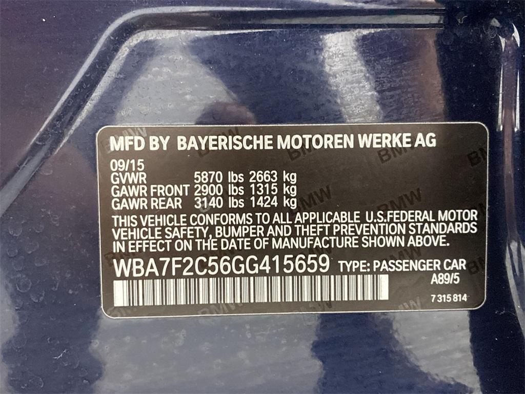 Used 2016 BMW 7 Series 750i xDrive for sale Sold at Gravity Autos Marietta in Marietta GA 30060 54