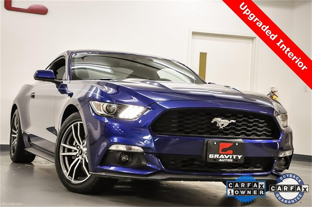 Used 2016 Ford Mustang EcoBoost for sale Sold at Gravity Autos Marietta in Marietta GA 30060 1
