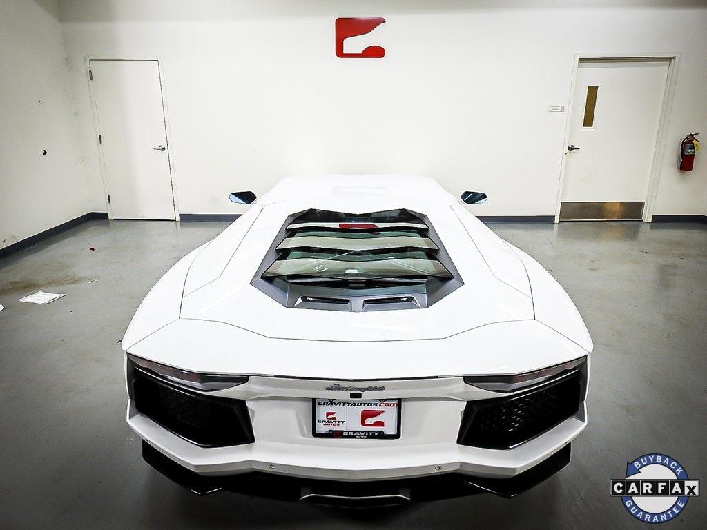 Used 2015 Lamborghini Aventador LP700-4 for sale Sold at Gravity Autos Marietta in Marietta GA 30060 22