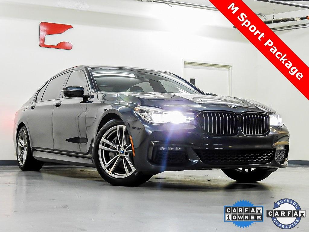 Used 2017 BMW 7 Series 740i for sale Sold at Gravity Autos in Roswell GA 30076 1