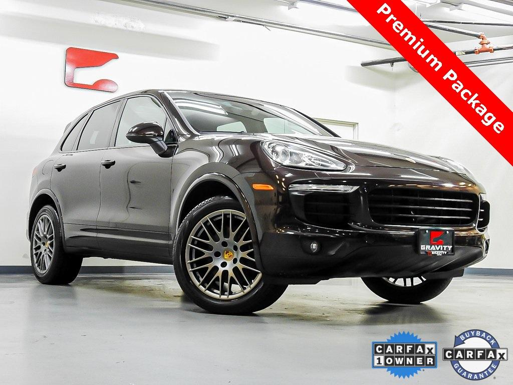 Used 2017 Porsche Cayenne Platinum Edition for sale $38,149 at Gravity Autos in Roswell GA 30076 1