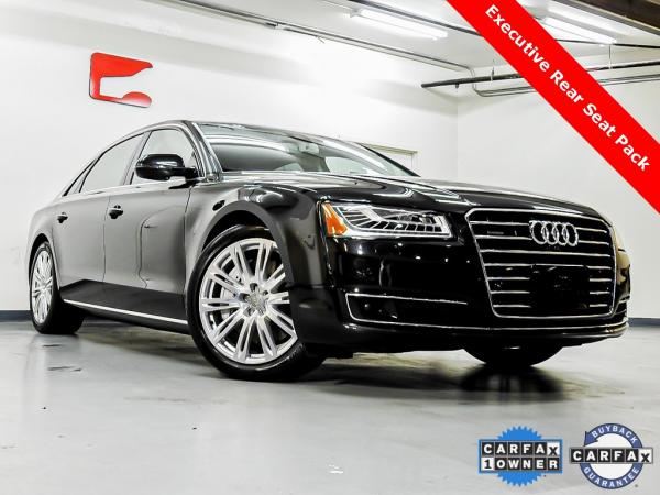 Used 2015 Audi A8 L 4.0T for sale Sold at Gravity Autos in Roswell GA 30076 1