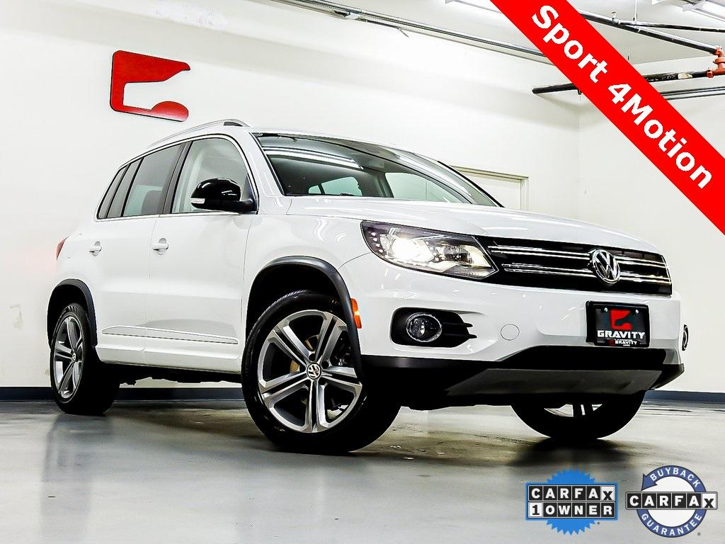 Used 2017 Volkswagen Tiguan Sport for sale Sold at Gravity Autos in Roswell GA 30076 1
