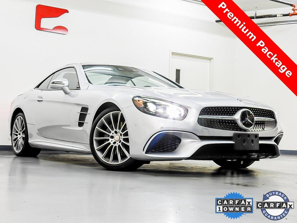 Used 2017 Mercedes-Benz SL-Class SL 450 for sale $55,509 at Gravity Autos in Roswell GA 30076 1