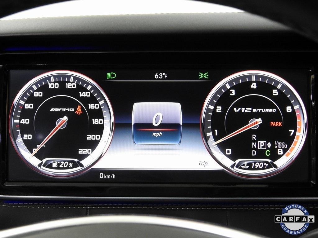 Used 2016 Mercedes-Benz S-Class S 65 AMG® for sale Sold at Gravity Autos Marietta in Marietta GA 30060 26