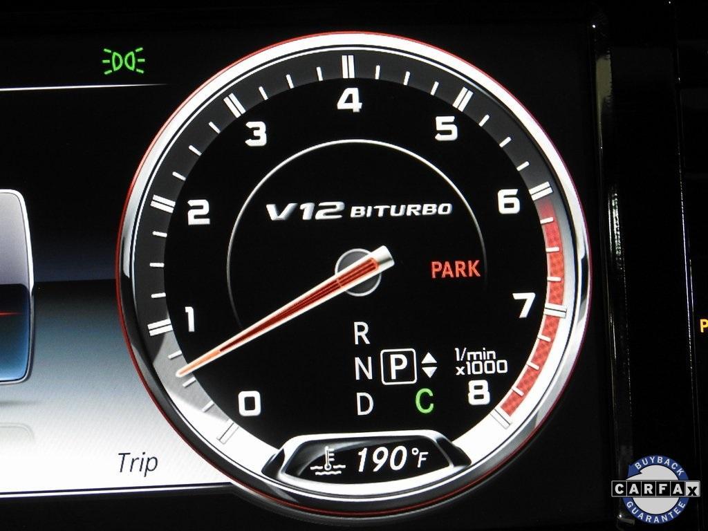 Used 2016 Mercedes-Benz S-Class S 65 AMG® for sale Sold at Gravity Autos Marietta in Marietta GA 30060 27