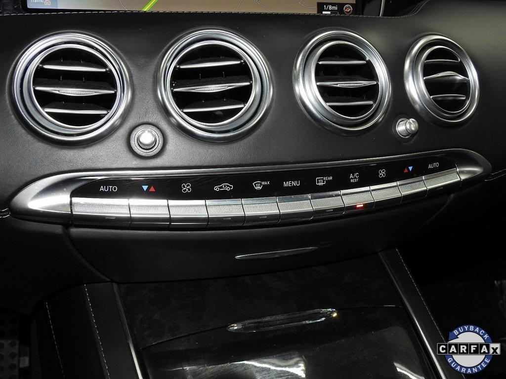 Used 2016 Mercedes-Benz S-Class S 65 AMG® for sale Sold at Gravity Autos Marietta in Marietta GA 30060 32