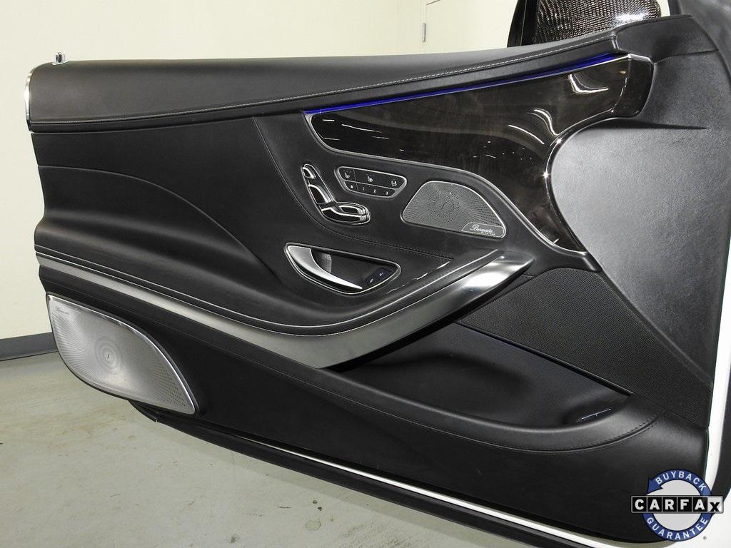 Used 2016 Mercedes-Benz S-Class S 65 AMG® for sale Sold at Gravity Autos Marietta in Marietta GA 30060 43