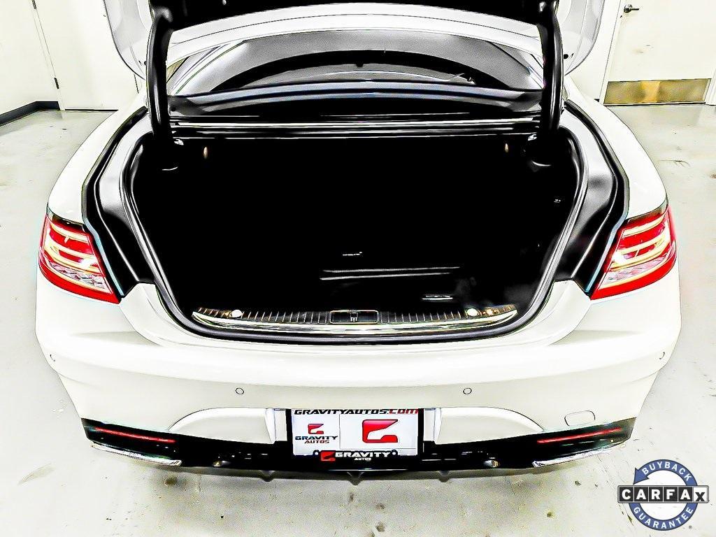 Used 2016 Mercedes-Benz S-Class S 65 AMG® for sale Sold at Gravity Autos Marietta in Marietta GA 30060 49