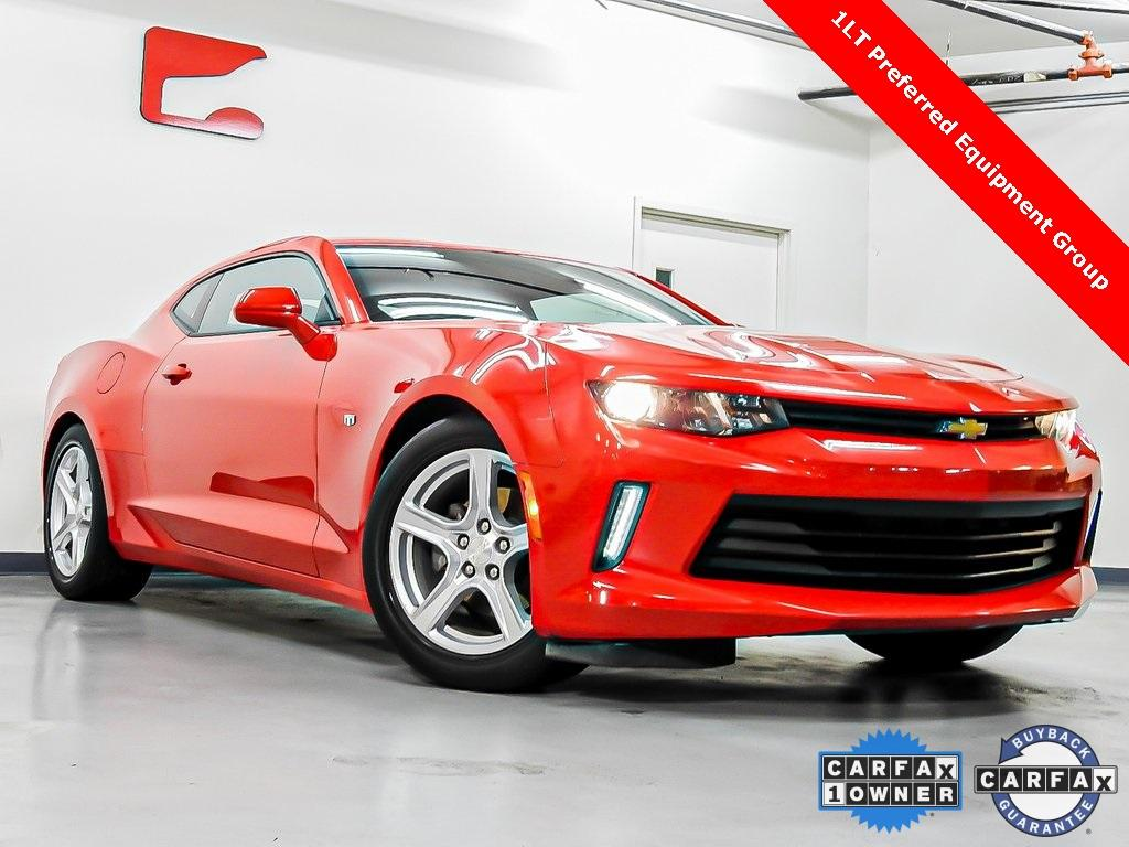 Used 2016 Chevrolet Camaro 1LT for sale $18,165 at Gravity Autos in Roswell GA 30076 1