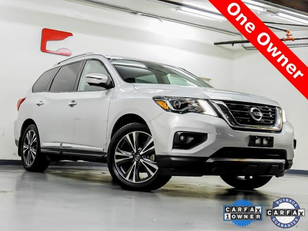 Used 2017 Nissan Pathfinder Platinum for sale $22,045 at Gravity Autos in Roswell GA 30076 1