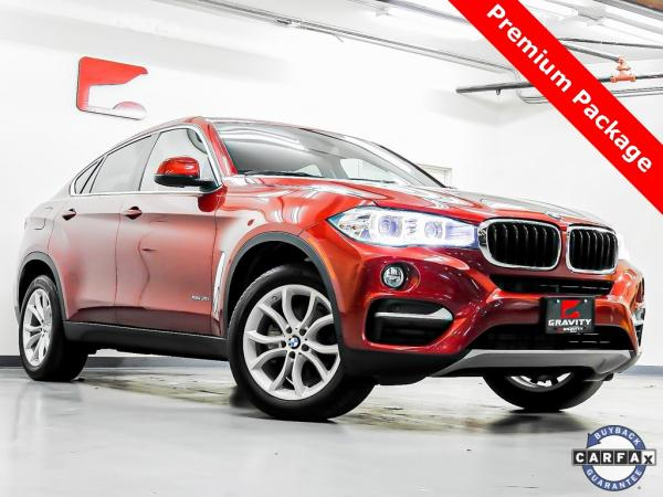 Used 2016 BMW X6 xDrive35i for sale $33,923 at Gravity Autos in Roswell GA 30076 1