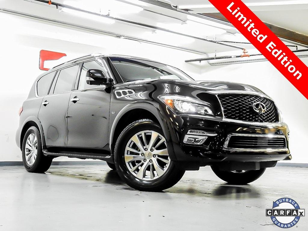 Used 2017 INFINITI QX80 Limited for sale $43,239 at Gravity Autos in Roswell GA 30076 1
