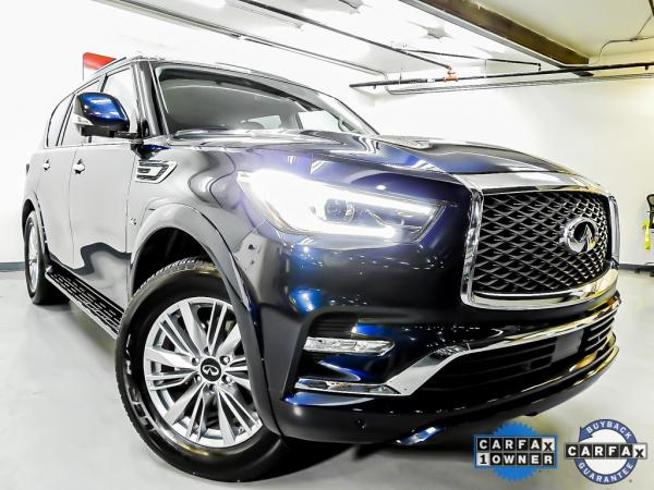 Used 2019 INFINITI QX80 LUXE for sale Sold at Gravity Autos in Roswell GA 30076 2