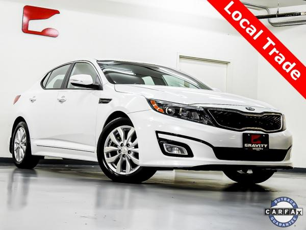 Used 2014 Kia Optima EX for sale $9,240 at Gravity Autos in Roswell GA 30076 1