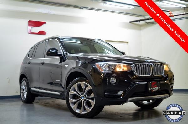 Used 2017 BMW X3 xDrive28i for sale $21,729 at Gravity Autos in Roswell GA 30076 1