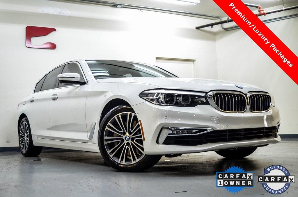 Used 2017 BMW 5 Series 530i for sale Sold at Gravity Autos in Roswell GA 30076 1
