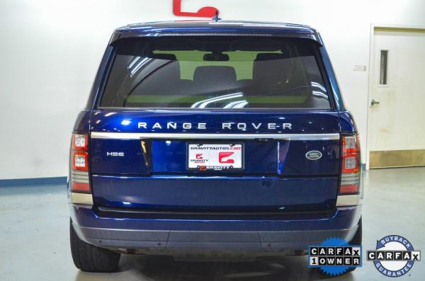 Used 2016 Land Rover Range Rover 3.0L V6 Supercharged HSE for sale $39,075 at Gravity Autos in Roswell GA 30076 3