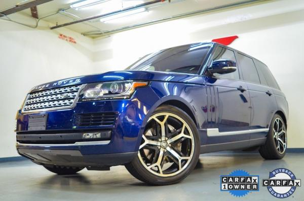 Used 2016 Land Rover Range Rover 3.0L V6 Supercharged HSE for sale $39,075 at Gravity Autos in Roswell GA 30076 4