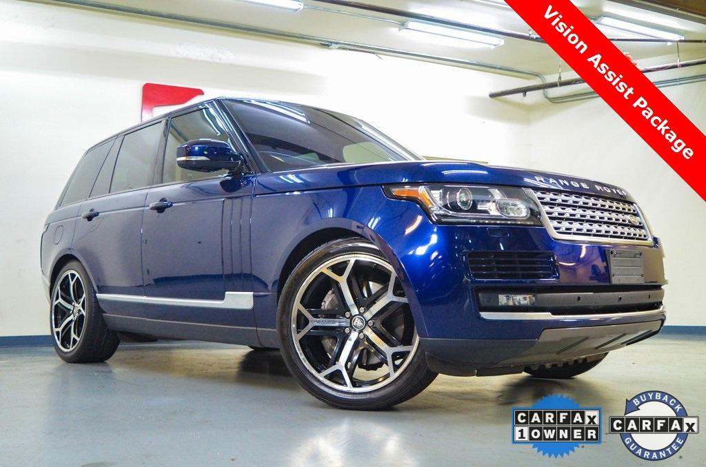 Used 2016 Land Rover Range Rover 3.0L V6 Supercharged HSE for sale $39,075 at Gravity Autos in Roswell GA 30076 1