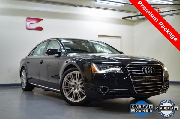 Used 2014 Audi A8 L 3.0T for sale Sold at Gravity Autos in Roswell GA 30076 1