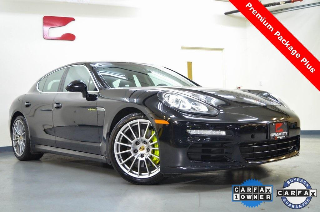 Used 2016 Porsche Panamera E-Hybrid S for sale $39,399 at Gravity Autos in Roswell GA 30076 1