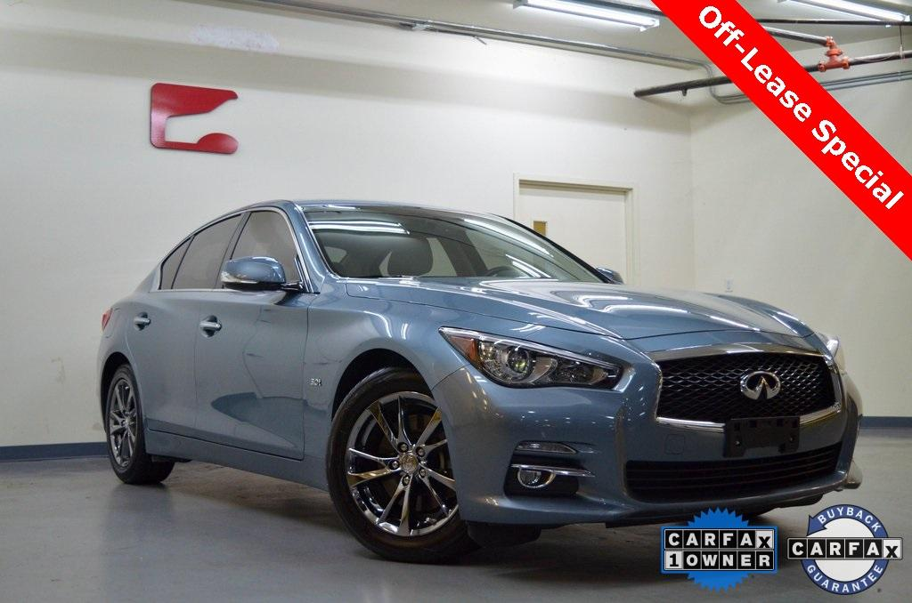 Used 2017 INFINITI Q50 3.0t Signature Edition for sale $20,701 at Gravity Autos in Roswell GA 30076 1
