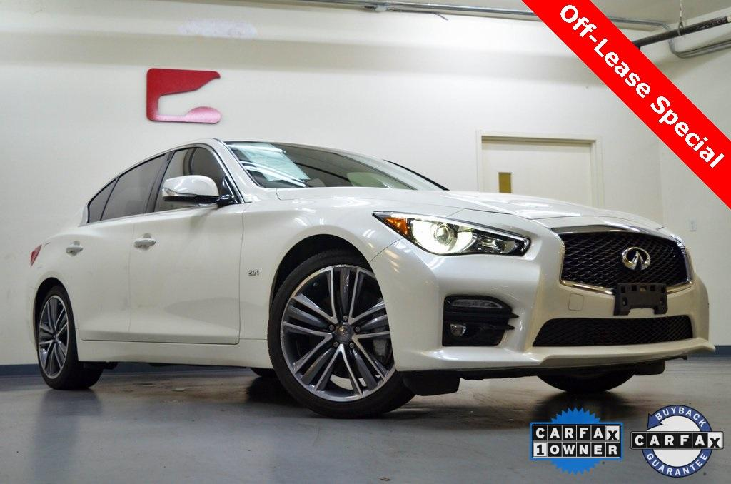 Used 2017 INFINITI Q50 Sport for sale $22,212 at Gravity Autos in Roswell GA 30076 1