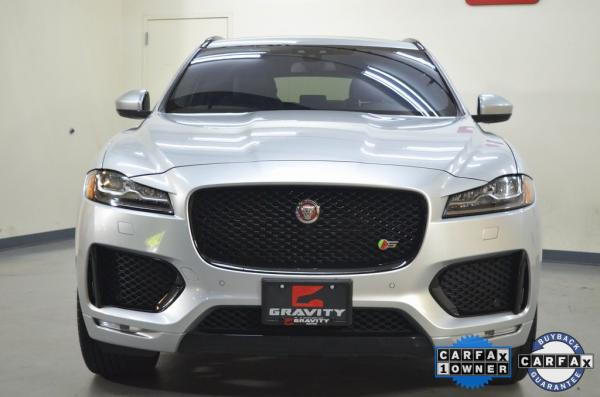 Used 2017 Jaguar F-PACE S for sale $30,911 at Gravity Autos in Roswell GA 30076 2