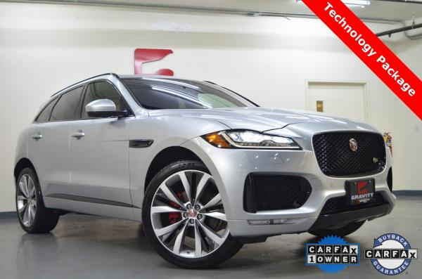 Used 2017 Jaguar F-PACE S for sale $30,911 at Gravity Autos in Roswell GA 30076 1