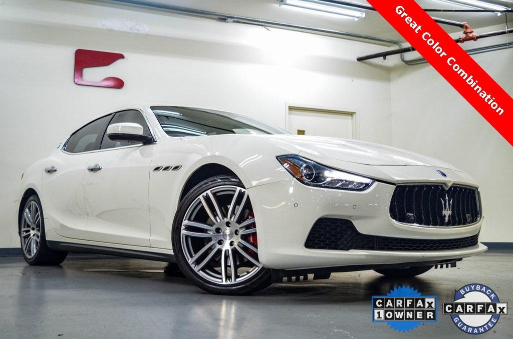 Used 2017 Maserati Ghibli for sale $32,873 at Gravity Autos in Roswell GA 30076 1