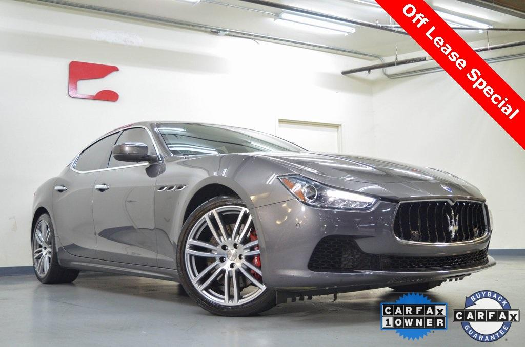 Used 2017 Maserati Ghibli S for sale $33,221 at Gravity Autos in Roswell GA 30076 1