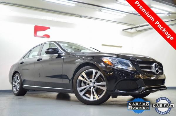 Used 2017 Mercedes-Benz C-Class C 300 for sale $24,993 at Gravity Autos in Roswell GA 30076 1