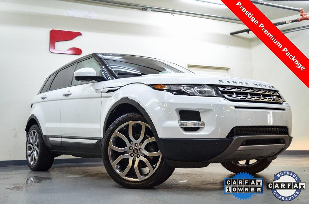 Used 2014 Land Rover Range Rover Evoque Prestige for sale Sold at Gravity Autos in Roswell GA 30076 1