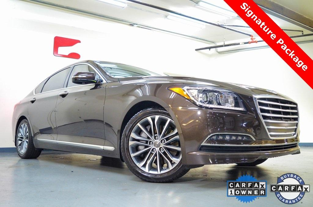 Used 2016 Hyundai Genesis 3.8 for sale $19,608 at Gravity Autos in Roswell GA 30076 1