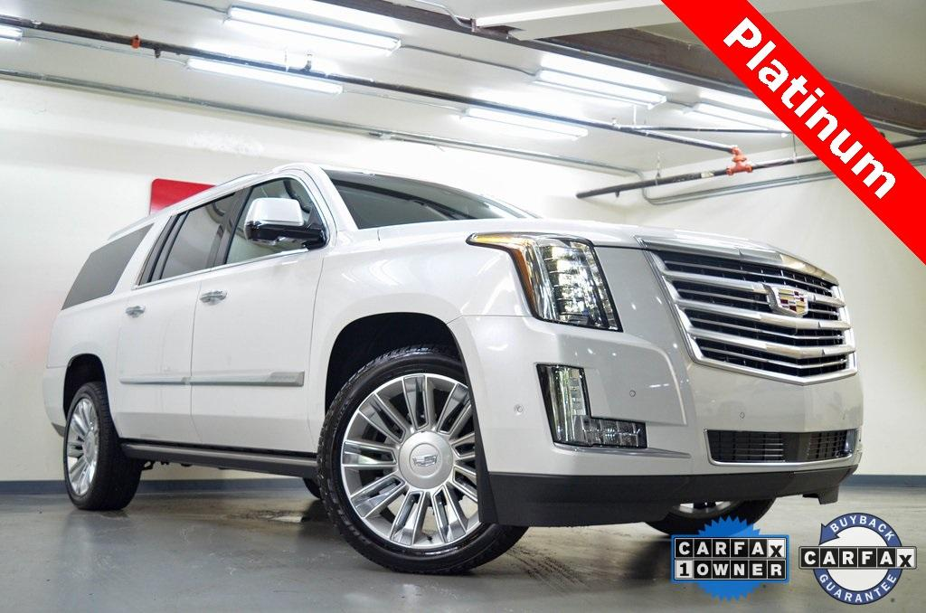 Used 2019 Cadillac Escalade ESV Platinum Edition for sale $66,965 at Gravity Autos in Roswell GA 30076 1